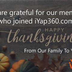 iYap Thankful Members