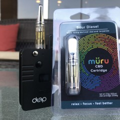 MÜRU's CBD Vape  Cartridges
